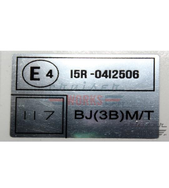 Etiqueta do I5R-0412506