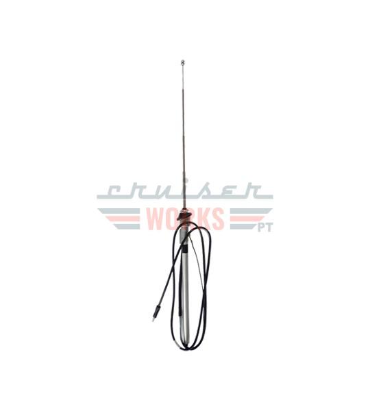 Antena extensível aplicação no curcuvan